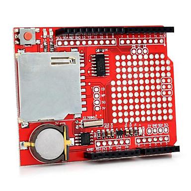 Xd-204 data logging schildmodule voor arduino-rood