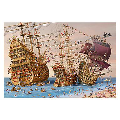 Holzpuzzle Spielzeuge Schiff Holz Unisex Erwachsene Stücke