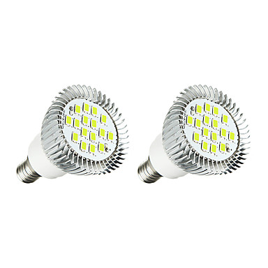 3W 260-300 lm E14 LED Spot Lampen 16 Leds SMD 5630 Warmes Weiß Weiß Wechselstrom 220-240V