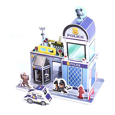 3D-puzzels Legpuzzel Bouwplaat Huis DHZ Korkealaatuinen paperi Klassiek Kinderen Unisex Geschenk