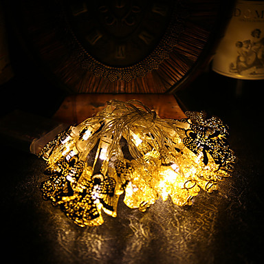 1.2 Leuchtgirlanden 10pcs LEDs Warmes Weiß <5V
