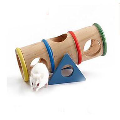 Knaagdieren Hamster Hout Duurzaam Hamsterwielen Beige