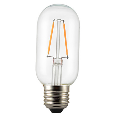 1szt 2W 140-200lm E26 / E27 Żarówka dekoracyjna LED P45 2 Koraliki LED COB Dekoracyjna Ciepła biel 220-240V