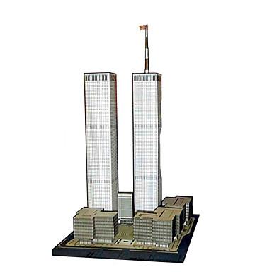 Puzzle 3D Lucru Manual Din Hârtie Clădire celebru Arhitectură 3D Reparații Hârtie Rigidă pentru Felicitări Clasic Unisex Cadou