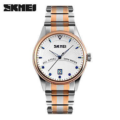 Bărbați Ceas La Modă Ceas de Mână Quartz Oțel inoxidabil Bandă Argint