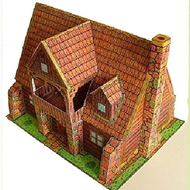 3D-puzzels Speeltjes Vierkant Beroemd gebouw Huis Architectuur 3D DHZ Hard Kaart Paper Niet gespecificeerd Stuks