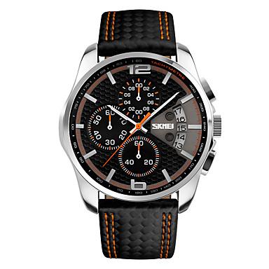 levne Pánské-Pánské Sportovní hodinky Vojenské hodinky Inteligentní hodinky Digitální Silikon Černá 30 m Voděodolné Kalendář Chronograf Analogové Přívěšky Luxus Na běžné nošení Skládaný Módní - Žlutá Červená Modrá