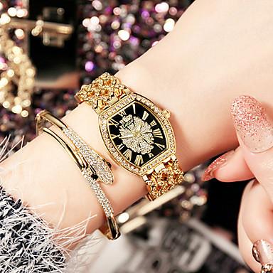 Pentru femei Simulat Diamant Ceas Unic Creative ceas Ceas de Mână Ceas Brățară Ceas La Modă Ceas Casual Chineză Quartz Rezistent la Apă