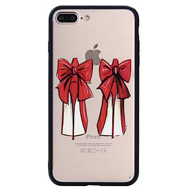 Voor apple iphone 7plus 7 telefoon hoesje combo hoge hakken patroon geverf lak reliëf scrub telefoon hoesje 6s plus 6plus 6s 6 zie 5s 5