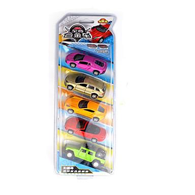 Speelgoedauto's Gegoten voertuigen Speeltjes Motorfietsen Politieauto Speeltjes Rechthoekig Paard Metaallegering Rauta Stuks Niet