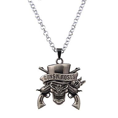 Heren Dames Geometrische vorm Vorm Uniek ontwerp Klassiek Cirkel Bruids USA Opvallende sieraden Movie Jewelry Gothic Verklaring Kettingen