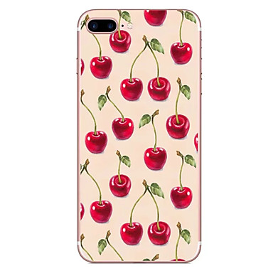 hoesje Voor Apple Patroon Achterkantje Fruit Zacht TPU voor iPhone 7 Plus iPhone 7 iPhone 6s Plus iPhone 6 Plus iPhone 6s Iphone 6