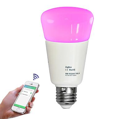 9W مصابيح صغيرة LED 31 SMD 2835 750 lm أبيض دافئ أبيض كول أبيض طبيعي RGB 2700-6500 ك تخفيت جهاز تحكم ديكور أب التحكم AC110-240 V