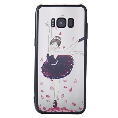 غطاء من أجل Samsung Galaxy S8 Plus S8 نموذج غطاء خلفي امرآة مثيرة قاسي PC إلى S8 S8 Plus