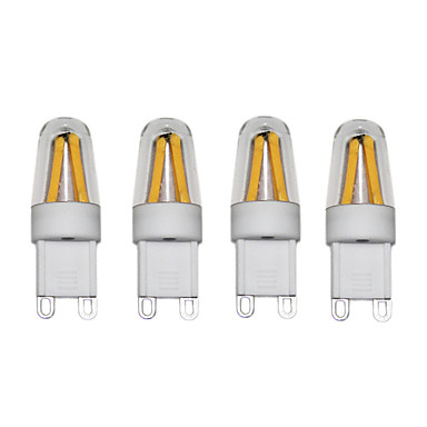3W أضواء LED Bi Pin T 4 COB 250 lm أبيض دافئ أبيض كول AC220 AC230 AC240 V 4 قطع