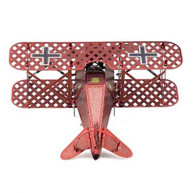 3D-puzzels Legpuzzel Metalen puzzels Modelbouwsets Speeltjes Vliegtuig 3D DHZ Kromi Metaal Niet gespecificeerd Stuks