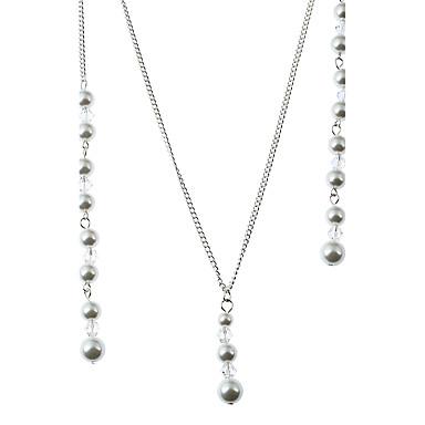 Damen Geometrische Form Anhänger Stil Künstliche Perle Simple Style Halsketten Anhängerketten Ketten Imitierte Perlen Künstliche Perle