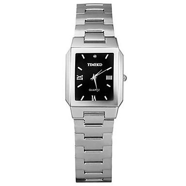 Heren Modieus horloge Kwarts Roestvrij staal Band Zilver Goud