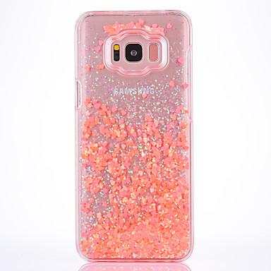 غطاء من أجل Samsung Galaxy S8 Plus S8 سائل متدفق شفاف نموذج غطاء خلفي شفاف قاسي TPU إلى S8 S8 Plus