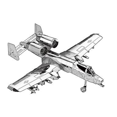 Puzzle 3D Puzzle Metal Aeronavă Articole de mobilier Reparații Crom MetalPistol Clasic Unisex Cadou