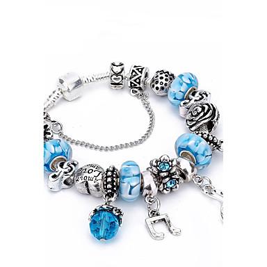 Dames Bedelarmbanden Strand Armbanden Kristal Bergkristal Luxe Natuur Vriendschap Modieus Gift Boxes & Bags Kristal Strass Zink Alloy