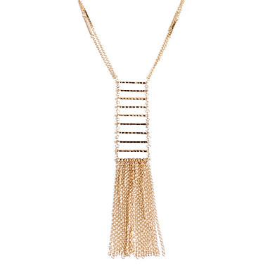 للمرأة Geometric Shape ترف شرابة قديم الصداقة الولايات المتحدة الأمريكية أفريقيا بيان المجوهرات euramerican في بانحراف قلائد الحلي مجوهرات