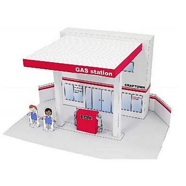 Puzzle 3D Modelul de hârtie Μοντέλα και κιτ δόμησης Clădire celebru Arhitectură 3D Reparații Clasic Unisex Cadou