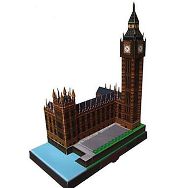Puzzle 3D Modelul de hârtie Lucru Manual Din Hârtie Μοντέλα και κιτ δόμησης Clădire celebru Ceas Arhitectură Marele Ben 3D Reparații