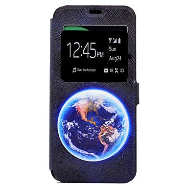 غطاء من أجل Samsung Galaxy S8 Plus S8 حامل البطاقات مع حامل نموذج غطاء كامل للجسم سماء قاسي جلد PU إلى S8 Plus S8 S7 edge S7