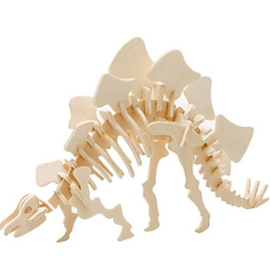 قطع تركيب3D تركيب الخشب نموذج ألعاب ديناصور طيارة بناء مشهور معمارية 3D اصنع بنفسك خشب غير محدد للجنسين قطع