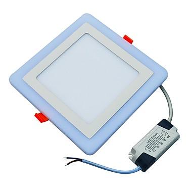 JIAWEN 18W 90 LEDs Decoratief Paneellampen Koel wit Blauw AC85-265V