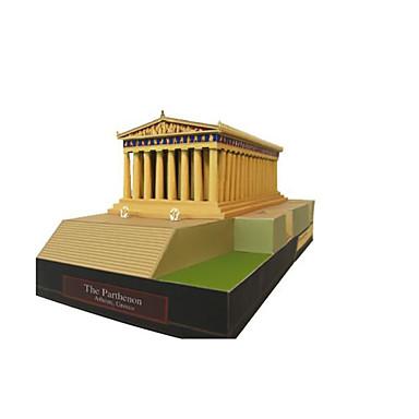 3D-puzzels Bouwplaat Papierkunst Modelbouwsets Beroemd gebouw Architectuur DHZ Klassiek Volwassenen Unisex Geschenk