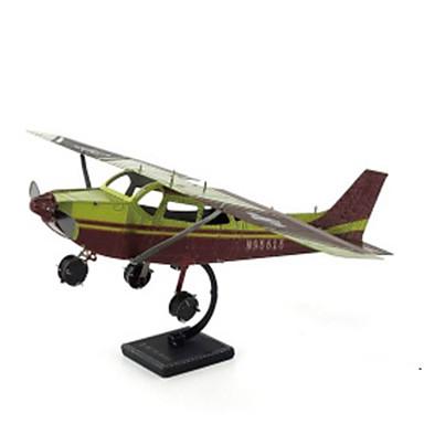 3D - Puzzle Holzpuzzle Metallpuzzle Modellbausätze Flugzeug 3D Heimwerken Chrom Metal Klassisch Unisex Geschenk