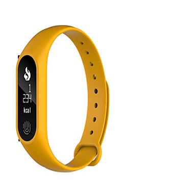 Dames Slim horloge Digitaal Silicone Band Zwart Blauw Roze Geel