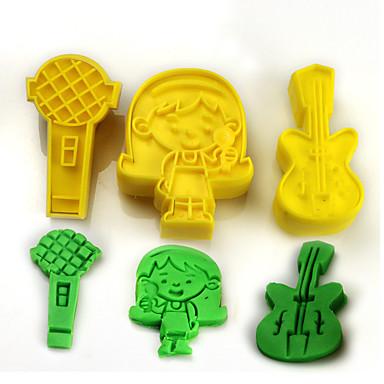 Instrumente cookie Floare Tort Plastice Copii Reparații