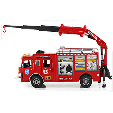 لعبة سيارات سيارات الصب ألعاب دراجة نارية قطار سيارة الإطفاء ألعاب مستطيل Train محركات سبيكة معدنية الحديد قطع غير محدد هدية