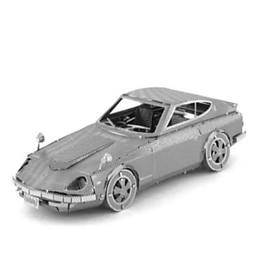 Jucării pentru mașini Puzzle 3D Puzzle Puzzle Metal Tren Mașină 3D Reparații Teak Crom MetalPistol Clasic Tren Unisex Cadou