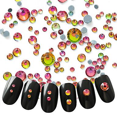 300 Nagelkunst decoratie Strass parels make-up Cosmetische Nagelkunst ontwerp