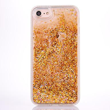 Caz pentru Apple iPhone 7 7 plus caz acoperire moale side diamant bullion bliț pulbere rapidă telefon caz 6s 6 plus