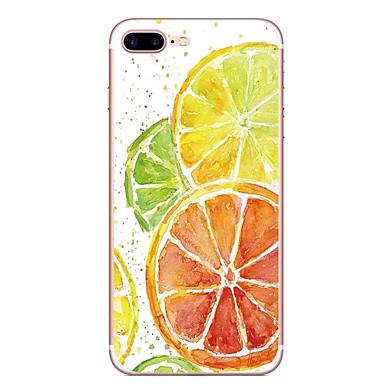 Hoesje voor apple iphone 7 7 plus hoesje hoesje oranje patroon hoesje geverfd tpu materiaal zacht hoesje hoesje voor iphone 6s 6 plus