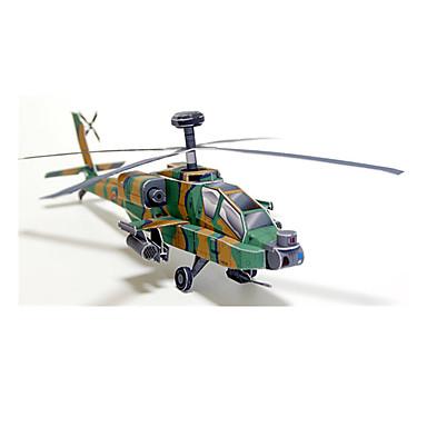 3D-puzzels Bouwplaat Helikopter Speeltjes Vierkant Vliegtuig Helikopter 3D DHZ Hard Kaart Paper Niet gespecificeerd Stuks