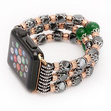 حزام إلى Apple Watch Series 3 / 2 / 1 Apple شريط المعصم تصميم المجوهرات خزفي