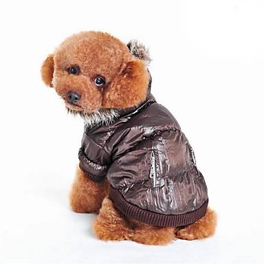 Hond Jassen Hondenkleding Ademend Casual/Dagelijks Effen Beige Grijs Bruin Kostuum Voor huisdieren