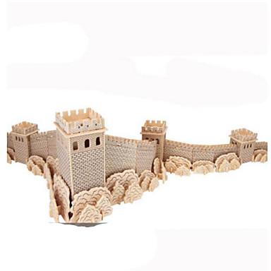 3D - Puzzle Metallpuzzle Holzmodelle Modellbausätze Architektur Heimwerken Naturholz Klassisch Kinder Erwachsene Unisex Geschenk