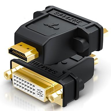 HDMI 2.0 Adapter, HDMI 2.0 to DVI Adapter Mannelijk - Vrouwelijk Verguld koper