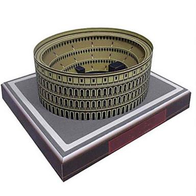 قطع تركيب3D نموذج الورق ألعاب مربع بناء مشهور حصان معمارية اصنع بنفسك ورق صلب غير محدد قطع