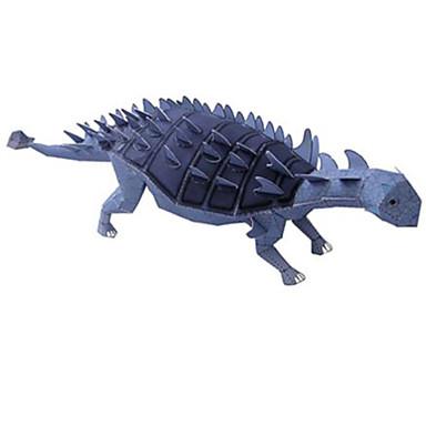 3D - Puzzle Papiermodel Spielzeuge Quadratisch Dinosaurier Heimwerken Hartkartonpapier keine Angaben Stücke