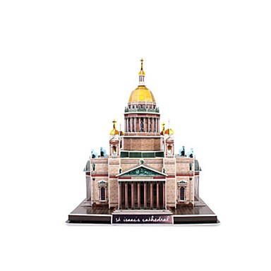 3D-puzzels Legpuzzel Modelbouwsets Beroemd gebouw Kerk (83 Architectuur 3D EPS+EPU Russisch 6 jaar en ouder