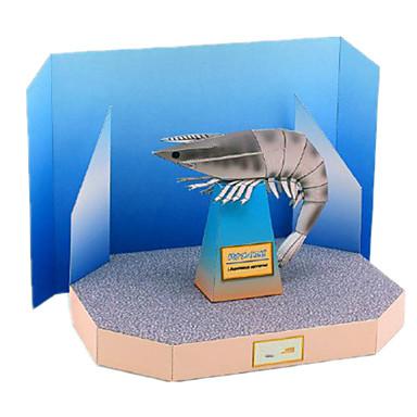 3D-puzzels Bouwplaat Papierkunst Modelbouwsets Vierkant Simulatie DHZ Hard Kaart Paper Klassiek Kinderen Unisex Geschenk