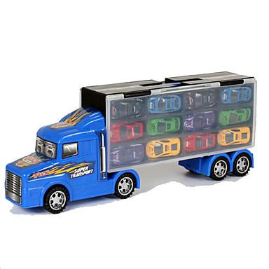 Speelgoedauto's Speeltjes Motorfietsen Truck Speeltjes Rechthoekig Vrachtwagen Metaallegering Rauta Metaal Stuks Niet gespecificeerd